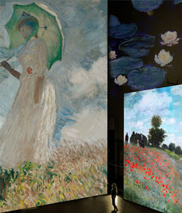 ''Monet experience and the Impressionists'', mostra multimediale nella chiesa di S. Stefano al Ponte