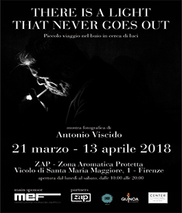 Mostra fotografica ''There is a Light That Never Goes Out'' di Antonio Viscido a ZAP Firenze