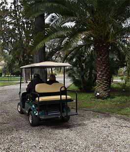Università di Firenze, all'Orto Botanico la primavera è accessibile a tutti grazie ad una golf car