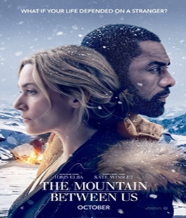 ''The mountain between us - Il domani tra di noi'', ilfilm di Hany Abu-Hassad al Cinema Odeon