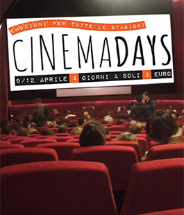 CinemaDays Firenze: film a 3 euro al Fiorella, Flora, The Space e Uci Cinemas